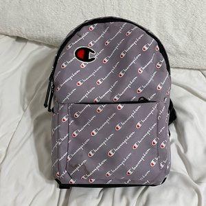Purple champion backpack